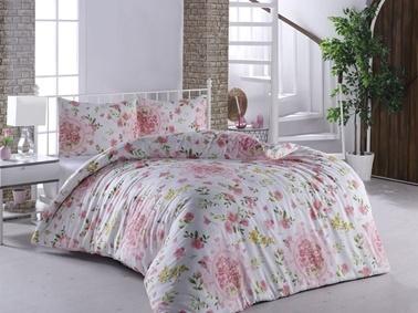 Lady Moda Flower Garden Çift Kişilik Nevresim Takımı Renkli